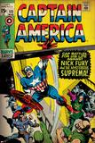 Marvel Comics Retro Style Guide: Captain America Posters
