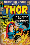 Marvel Comics Retro Style Guide: Thor, Absorbing Man Posters