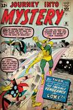 Marvel Comics Retro Style Guide: Thor, Loki Posters