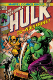 Marvel Comics Retro Style Guide: Hulk, Wolverine Posters