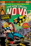 Marvel Comics Retro Style Guide: Nova, Thor Prints