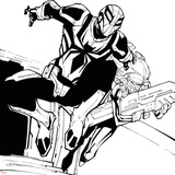 Ultimate Spider-Man Style Guide: Spyder-Knight Prints