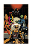 New Avengers No. 16: Sun God, Boundless, Doctor Spectrum, The Rider, The Jovian, The Norn Prints