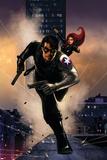 Winter Soldier No. 13: Winter Soldier, Black Widow Print