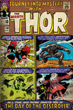 Marvel Comics Retro Style Guide: Thor, Loki, Odin, Destroyer Posters