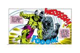 Marvel Comics Retro Style Guide: Hulk, Rhino Art