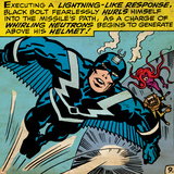 Marvel Comics Retro Style Guide: Black Bolt, Medusa Posters