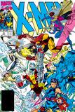 X-Men Forever Alpha No. 1: X-Men No. 3: Psylocke, Wolverine, Gambit, Cyclops, Rogue, Beast Plakater