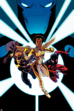 New Warriors No. 3: Justice, Scarlet Spider, Sun Girl Photo