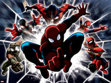 Ultimate SpiderMan - Web Warriors Situational Art Prints