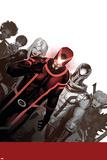Uncanny X-Men No. 1: Cyclops, Frost, Emma, Magneto, Magik, Triage, Tempus Print