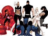 Astonishing X-Men: Xenogenesis No. 1: Armor, Storm, Beast, Cyclops, Frost, Emma, Wolverine Poster