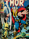 Marvel Comics Retro Style Guide: Thor, Galactus Prints
