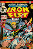 Marvel Comics Retro Style Guide: Iron Fist Posters