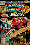 Marvel Comics Retro Style Guide: Falcon, Captain America Prints