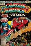 Marvel Comics Retro Style Guide: Falcon, Captain America Prints