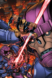Wolverine and The X-Men No. 39: Cyclops, Wolverine, Sentinel Poster