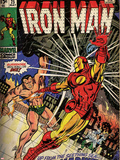 Marvel Comics Retro Style Guide: Iron Man, Namor Posters