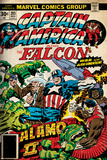 Marvel Comics Retro Style Guide: Falcon, Captain America Posters