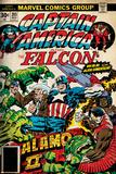 Marvel Comics Retro Style Guide: Falcon, Captain America Posters
