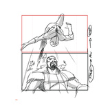 Ultimate SpiderMan - 2014 Storyboard Sequences Print