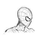 Ultimate SpiderMan - Animation 2014 Storyboard Sketches Posters