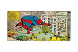 Marvel Comics Retro Style Guide: Spider-Man Lámina