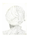 Turban Giclee Print by Lincoln Seligman