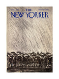 The New Yorker Cover - November 8, 1969 Regular Giclee Print by Ronald Searle