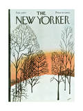The New Yorker Cover - February 7, 1970 Regular Giclee Print by David Preston