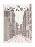 The New Yorker Cover - February 10, 1986 Premium Giclee Print by Roxie Munro