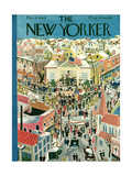 The New Yorker Cover - March 4, 1944 Premium Giclee Print by Ilonka Karasz