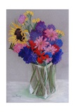 Jan's Flowers, 2010 Giclee Print by Joan Thewsey
