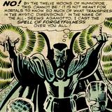 Marvel Comics Retro Style Guide: Dr. Strange Print