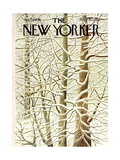 The New Yorker Cover - January 29, 1966 Premium Giclee Print by Ilonka Karasz