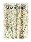 The New Yorker Cover - January 29, 1966 Giclee Print by Ilonka Karasz