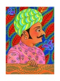 Maharaja with Butterflies, 2011 Giclee Print by Jane Tattersfield