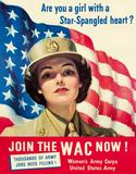 WAC - Come Join Cartel de chapa