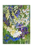 Spring Border, 2012 Giclee Print by Joan Thewsey