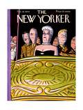 The New Yorker Cover - February 26, 1944 Premium Giclee Print by Peter Arno