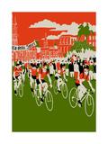 Giro, 2013 Giclee Print by Eliza Southwood