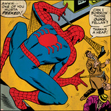Marvel Comics Retro Style Guide: Spider-Man Poster