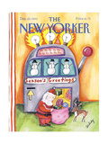 The New Yorker Cover - December 23, 1991 Regular Giclee Print by Stephanie Skalisky