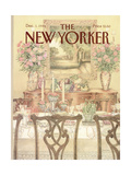 The New Yorker Cover - December 1, 1986 Premium Giclee Print by Jenni Oliver