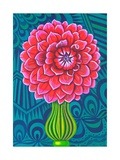 Dahlia, 2014 Giclee Print by Jane Tattersfield