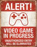 Video Game in Progress - Metal Tabela