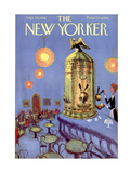 The New Yorker Cover - September 20, 1958 Premium Giclee Print by Robert Kraus