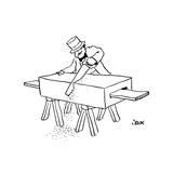 New Yorker Cartoon Giclee Print by John Jonik