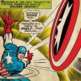 Marvel Comics Retro Style Guide: Captain America Posters