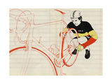 Vlaeminck, 2014 Giclee Print by Eliza Southwood
